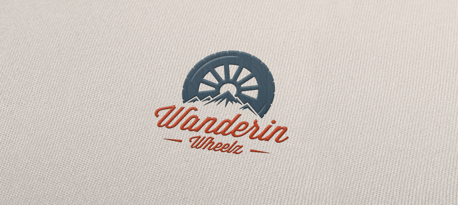 Wanderin Wheels Embroidered